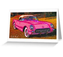 Pink-Passion-Car-Justin Beck-picture-2015109 Greeting Card