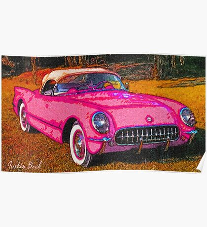 Pink-Passion-Car-Justin Beck-picture-2015109 Poster