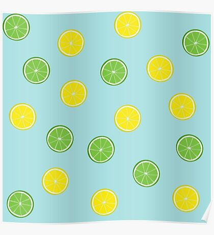 Lemon Lime Poster