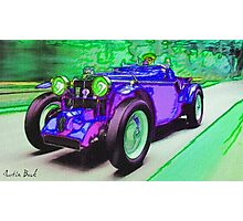 Purple-Car-Justin Beck-picture-2015101 Photographic Print