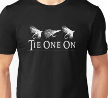 TIE ONE ON Unisex T-Shirt