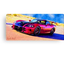 Race-Car-Justin Beck-picture-2015107 Canvas Print