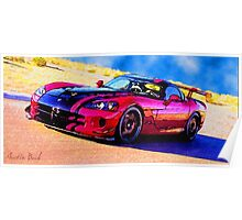 Race-Car-Justin Beck-picture-2015107 Poster