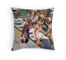 Covered... Throw Pillow
