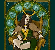Lady Loki by phantomssiren