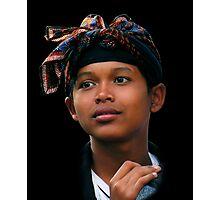 BALINESE BOY - UBUD Photographic Print