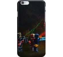 Revenge attack of the bricks iPhone Case/Skin