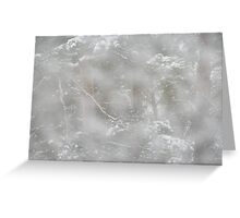 Kivenlahti wild snowstorm Greeting Card