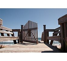 Gateway to Cinnamon Beach  Photographic Print