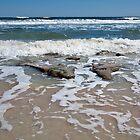 Shoreline at Cinnamon Beach  by John  Kapusta