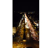 Champs Elysees from Arc de Triomphe Photographic Print