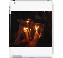 Light a candle for you... iPad Case/Skin