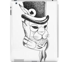 gentleman panther iPad Case/Skin
