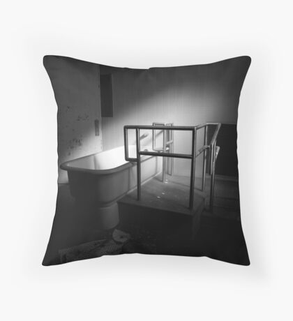 Bath Tub Throw Pillow