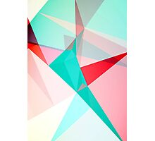FRACTION - Abstract Graphic Iphone Case Photographic Print