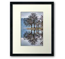 Loch Ard Reflections Framed Print