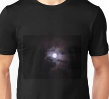 Moon and some distant galaxy vibes Unisex T-Shirt