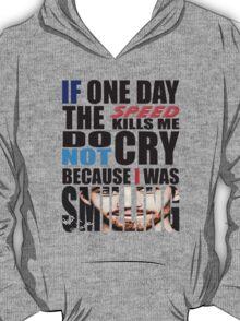 Paul Walker's Famous Quotes T-Shirt