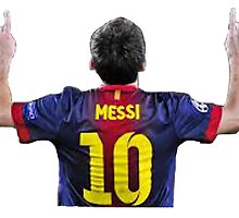 Messi by Enriic7