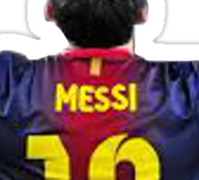 Messi Sticker