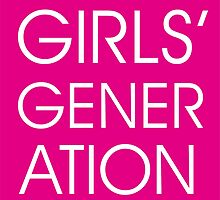 Girls' Generation by drdv02