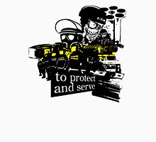 to Protect and Serve, right? Men's Baseball ¾ T-Shirt