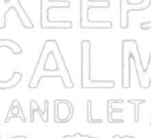 Keep Calm and Let Jason - T - Shirts & Hoodies Sticker