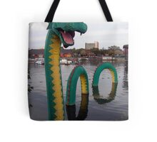 Look What Just Popped Out of the Lagoon! Tote Bag