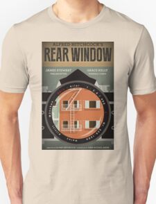 Rear Window alternative movie poster T-Shirt