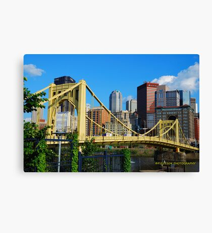 Roberto Clemente Bridge Canvas Print