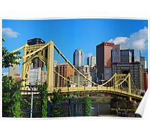 Roberto Clemente Bridge Poster