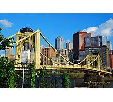 Roberto Clemente Bridge Photographic Print