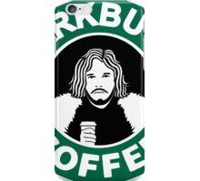 starKbucks coffee Game of thrones John snow starbucks iPhone Case/Skin