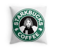 starKbucks coffee Game of thrones John snow starbucks Throw Pillow
