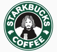 starKbucks coffee Game of thrones John snow starbucks Kids Clothes