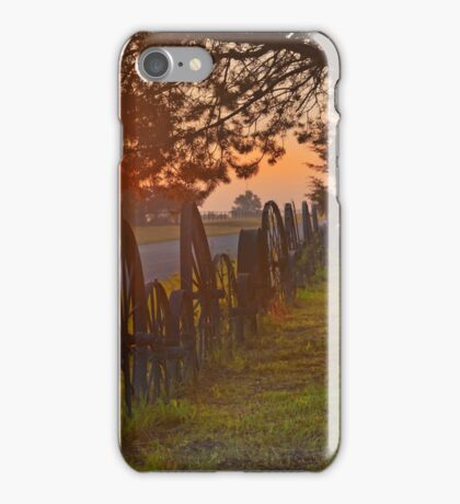Sunrise on Pflum Road  iPhone Case/Skin
