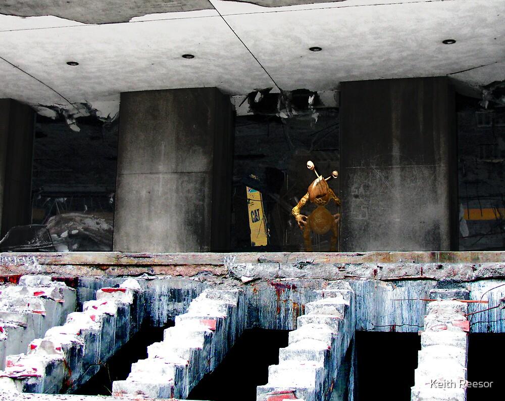 "Demolition ""Man"" by Keith Reesor"