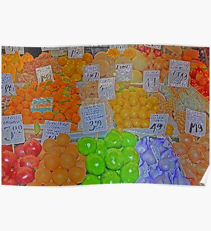 vegetable market 2 Poster