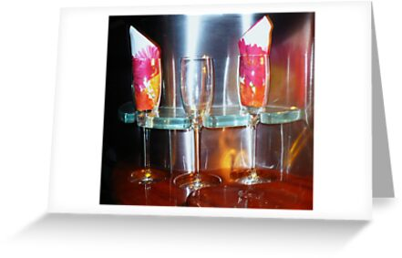 drinks for three ! by Linda Bianic