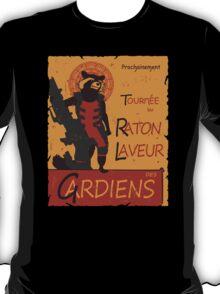 T-shirt Raccoon Rocket tshirt raton laveur tshirt tournée du chat noir tshirt gardian galaxy t-shirt tournee du raton noir T-Shirt