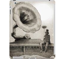 The Chimney Sweep (monochrome) iPad Case/Skin