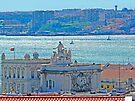 Lisbon. Tejo river view from the Castle by terezadelpilar ~ art & architecture