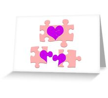 Love is a Puzzle Greeting Card