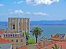 Sé de Lisboa. (Cathedral). Tejo river. by terezadelpilar~ art & architecture