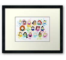 Ladies of Disney Framed Print