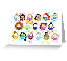 Ladies of Disney Greeting Card