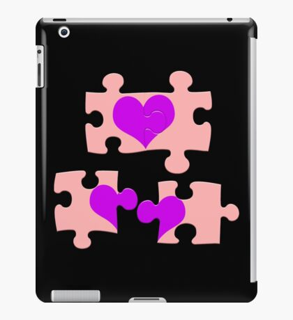 Love is a Puzzle iPad Case/Skin