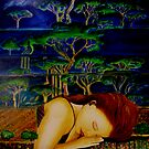 "Nature Sleeping - Oil Painting by Belinda ""BillyLee"" NYE (Printmaker)"