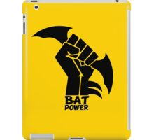 BATMAN POWER - BLACK POWER - BAT POWER iPad Case/Skin