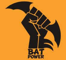 BATMAN POWER - BLACK POWER - BAT POWER by KokoBlacksquare